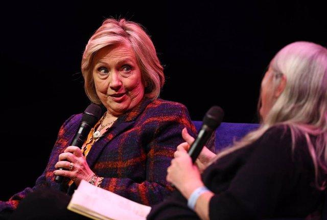 Hillary Clinton, en un acto en Londres
