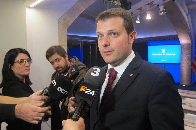 Gerard Figueras, secretari general de l'Esport de la Generalitat.
