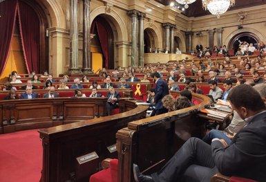 El Parlament reitera la seva voluntat d'exercir l'autodeterminació amb els vots de JxCat, ERC i la CUP (EUROPA PRESS - Archivo)