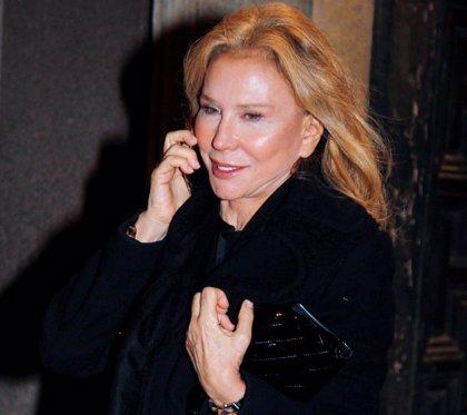 Alicia Koplowitz, muy guapa, en la medalla de honor 2019 al Museo del Prado
