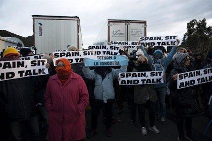 Tsunami Democràtic llama a bloquear la frontera con Francia en Irún