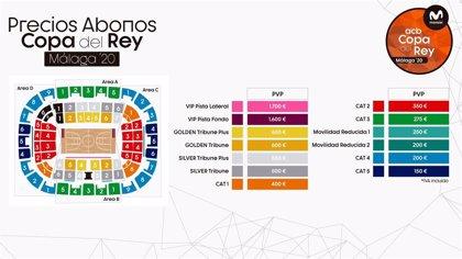 Los abonos de la Copa de Málaga saldrán a la venta el lunes 18 desde 150 euros