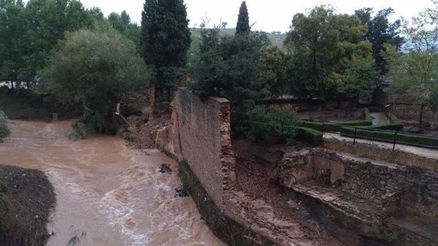 Baños árabes desperfectos daños Ronda lluvias precipitaciones ayuntamiento
