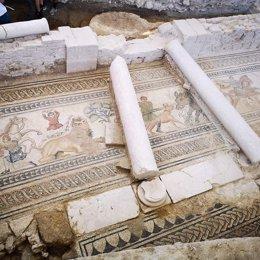 Mosaico de la villa romana de Salar