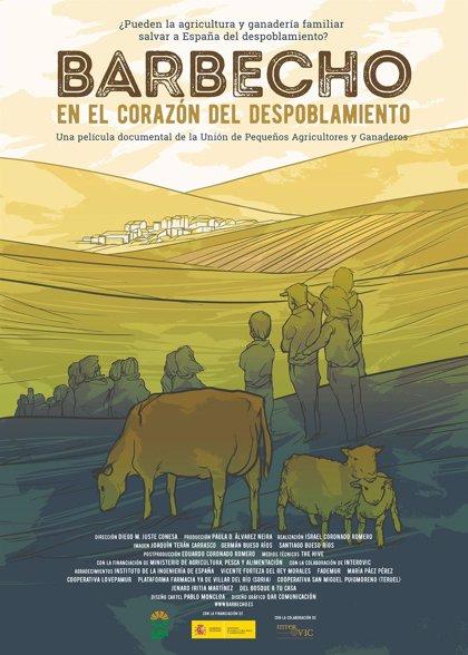 UPA refleja en su documental 'Barbecho' el papel de la agricultura y ganadería para frenar el despobliación