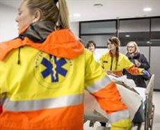 Atropellament mortal en un pas de vianants a Lleida (BANC D'IMATGES INFERMERES / ARIADNA CREUS I ÀNGEL)