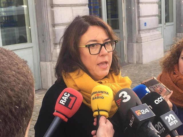 L'eurodiputada d'ERC Diana Riba.