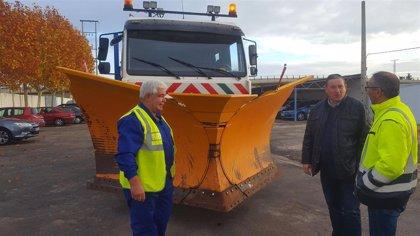 El Plan de Vialidad Invernal de Zamora dispone 15 vehículos y 60 trabajadores contra las nevadas