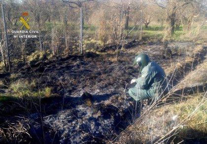 Esclarecidos 17 incendios forestales e investigadas 20 personas por la Guardia Civil de León