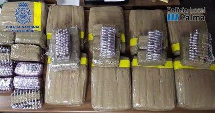 Sucesos.- La Policía Nacional incauta 300 kilos de droga en Mallorca tras desarticular una organización criminal