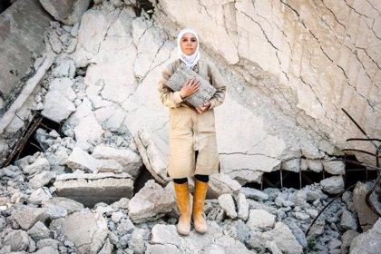Ladrillos 'made in Spain' para reconstruir casas y vidas en Alepo