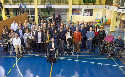 Parapléjicos homenajea al científico Nieto Sampedro, principal artífice de la Unidad de Investigación