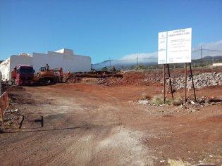 Obras de las 44 viviendas de El Tablero