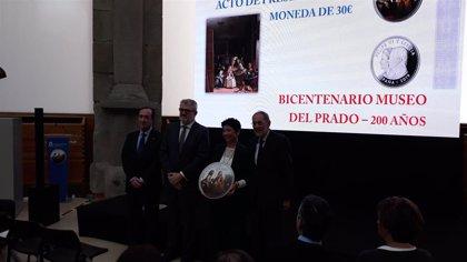 El Prado lanza un millón de monedas conmemorativas de 30 euros por el Bicentenario