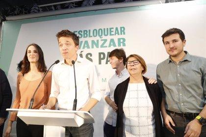 """Errejón saluda el preacuerdo entre PSOE y Podemos: """"Nunca es tarde si la dicha es buena"""""""