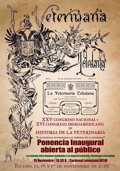Toledo acoge desde este viernes el XVI Congreso Iberoamericano y XXV Nacional de Historia de la Veterinaria