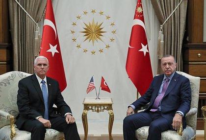 Siria.- Erdogan acusa a EEUU de incumplir el acuerdo de alto el fuego en el noreste de Siria