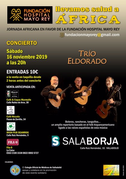 AMP La música folk hispanoamericana sonará este sábado en Valladolid en un concierto solidario a favor de Camerún