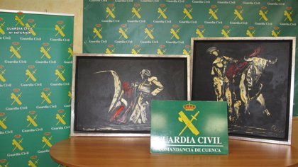 Detenido por robar en Jábaga dos cuadros del pintor Remy J. López valorados en miles de euros
