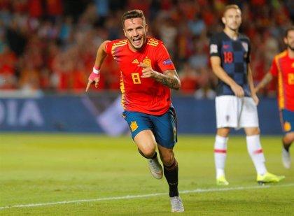 """Saúl: """"Creo que mi gol con la selección en Elche es la mejor sensación de mi vida"""""""