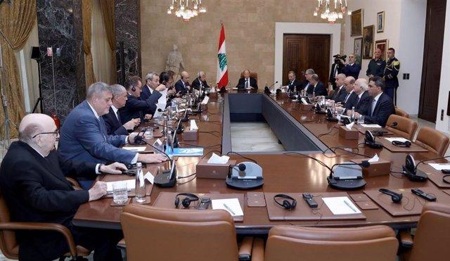 """Líbano.- La ONU insta a """"acelerar"""" la formación de gobierno en Líbano para comen"""