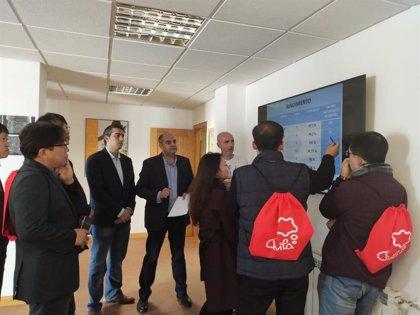 Responsables del Ayuntamiento de Gapyeong, en Corea del Sur, visitan la EDAR de Ávila para conocer su funcionamiento