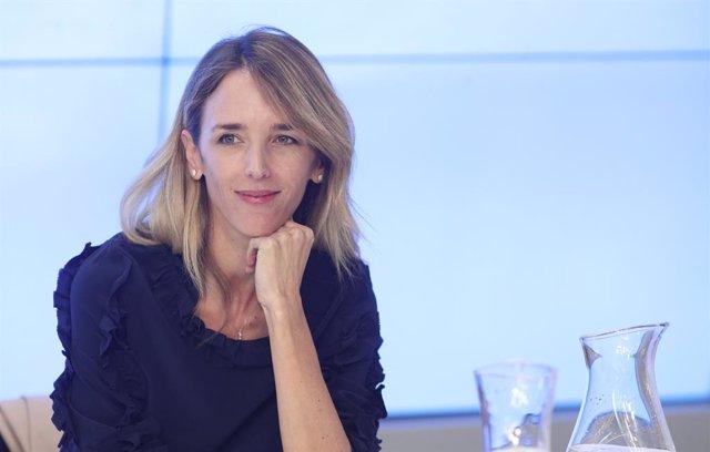 La portaveu del PP al Congrés dels Diputats, Cayetana Álvarez de Toledo, moments abans de començar la reunió del Comité Executiu Nacional del Partit Popular, després de les eleccions generals del 10N, a Madrid (Espanya) a 12 de novembre del 2019.