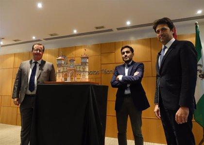 El Hotel Alfonso XIII y el Centenario de la Primera Vuelta al Mundo, en la portada de la Feria de Abril 2020 de Sevilla