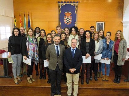 Clausurado en Moguer (Huelva) un taller de empleo de ayuda a domicilio