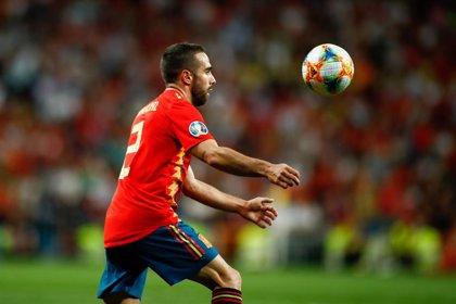 """Carvajal, sobre el Camp Nou: """"Estamos encantados de jugar en todos los campos de España"""""""