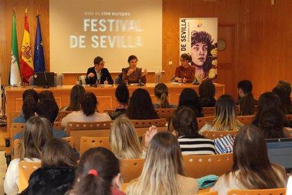 La cineasta Alexe Poukine protagoniza un encuentro con estudiantes de la UPO