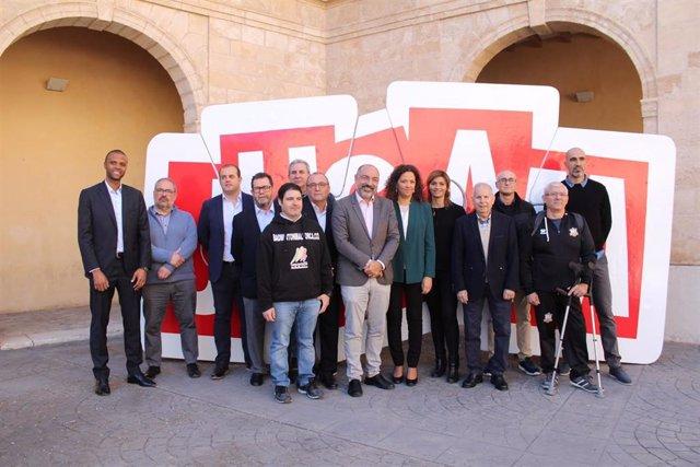 El Consell de Mallorca presenta la nueva edición de 'Jugam amb l'elit'.
