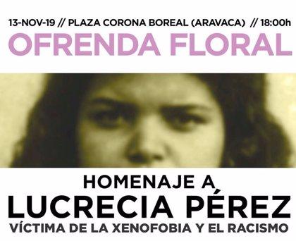 Asociaciones vecinales de Aravaca recordarán con flores a Lucrecia Pérez, asesinada por neonazis hace 27 años