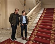 Ricardo Darín i Andrea Pietra tornen al Teatre Tívoli de Barcelona amb 'Escenas de una vida conyugal' (EUROPA PRESS)
