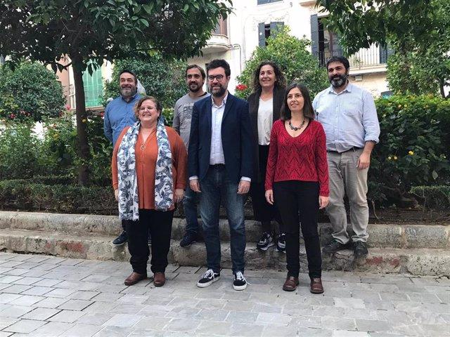 Candidatura encabezada por Antoni Noguera para coordinar MÉS per Mallorca