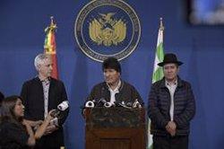 Evo Morales arriba