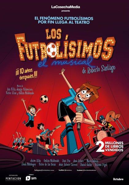 La gira de 'Los Futbolísimos, el musical' llegará este sábado al Teatro Campos Elíseos de Bilbao