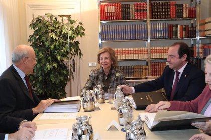 La Fundación Reina Sofía centrará su actuación en 2020 en el Alzheimer, medio ambiente y ayudar a los desfavorecidos