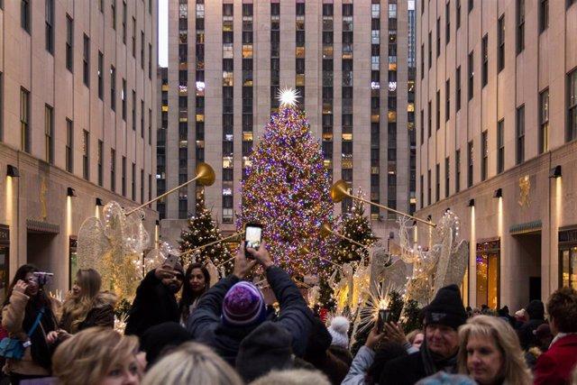 Arbre de Nadal a Rockefeller Center