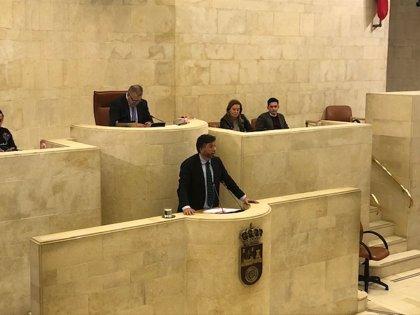 El Parlamento de Cantabria rechaza la propuesta de Vox de ilegalizar partidos separatistas