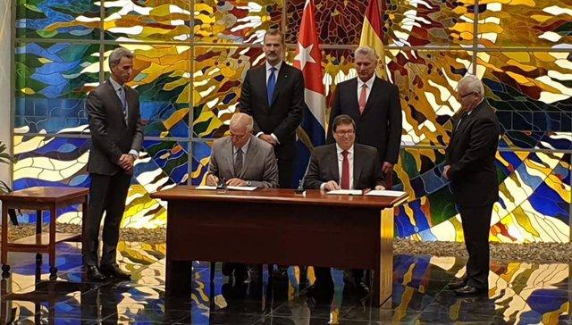 España y Cuba renuevan su marco de cooperación al desarrollo hasta 2022, valorado en 57,5 millones de euros
