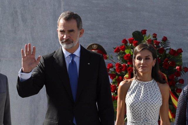Rey Felipe y Reina Letizia en La Habana