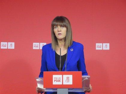 """Mendia cree """"un acierto"""" que, con """"la amenaza de la ultraderecha"""", el pacto PSOE-UP priorice políticas feministas"""