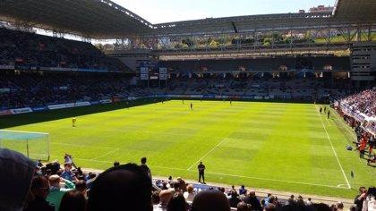 Fútbol.- El Sporting rechaza entradas para el derbi al no aceptar el Real Oviedo que aficionados viajen por su cuenta