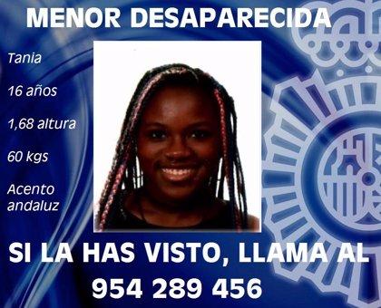 Localizada en buen estado en Constantina la menor de 16 años desaparecida en Sevilla