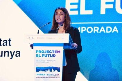 """Budó dice que la candidatura de los Juegos Pirineus-Barcelona es un proyecto """"ambicioso"""""""