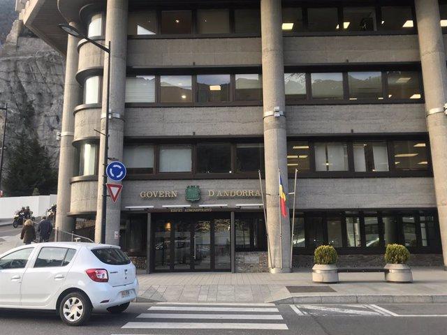 L'edifici administratiu del Govern d'Andorra