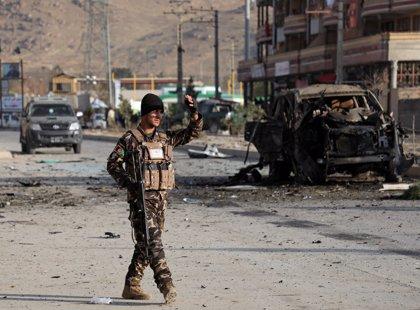 Al menos siete muertos por la explosión de un coche bomba en Kabul cerca del Ministerio del Interior