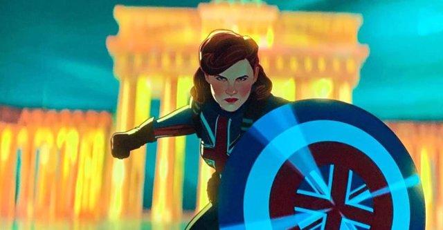 Capitana América en la serie animada What If...?
