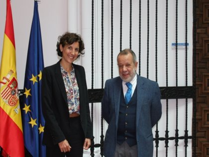 La nueva representante de ACNUR en España, Sophie Muller, inicia contactos con Gobierno e instituciones